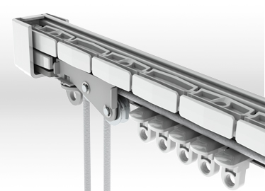 Bendable Curtain Rail - Gallery Image