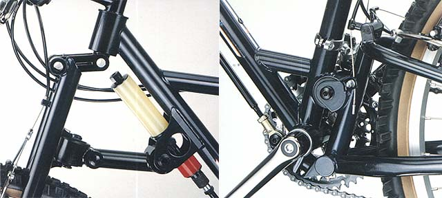 Front to Rear Bike Suspension - Image 1