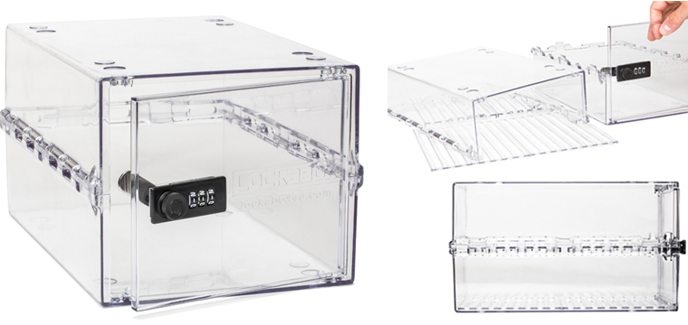 Lockable Box Product - Gallery Image